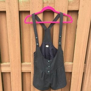 Urban Outfitters Lux Overall Shorts